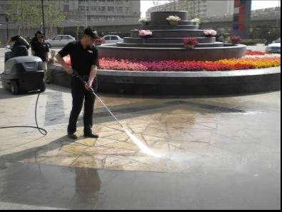 广场、路面清洗